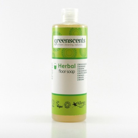 Greenscents GULVSÅPE 400 ml - «HERBAL»