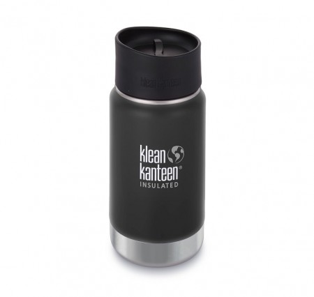Klean Kanteen Insulated Wide 355 ml, SHALE BLACK