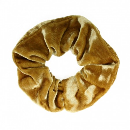 Scrunchie, Camel Velour