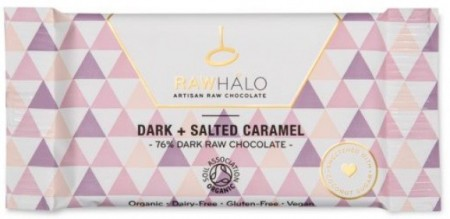 Raw Halo, Dark + Salted Caramel 22 gram - utsolgt