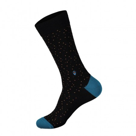 Socks that stop violence against women, BLACK/BLUE (str. 36-40, str. 41-46), Conscious Step sokker