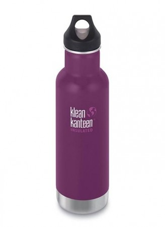 Klean Kanteen INSULATED CLASSIC 592 ml, WINTER PLUM, midlertidig utsolgt