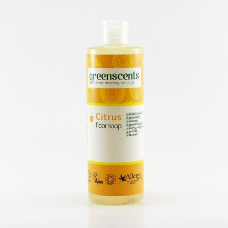 Greenscents GULVSÅPE 400 ml - SITRUS