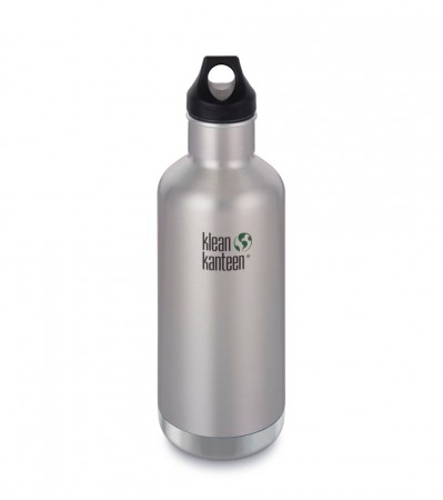 Klean Kanteen Insulated Classic drikkeflaske 946 ml, BRUSHED STEEL