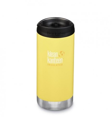 Klean Kanteen INSULATED TKWide 355 ml, BUTTERCUP - midlertidig utsolgt