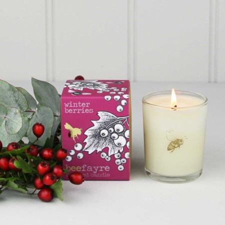 BeeFayre DUFTLYS, Winter Berries 90 gram