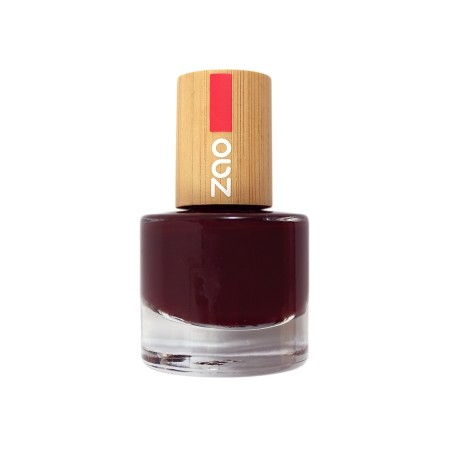 Zao neglelakk 8 ml, 659 BLACK CHERRY