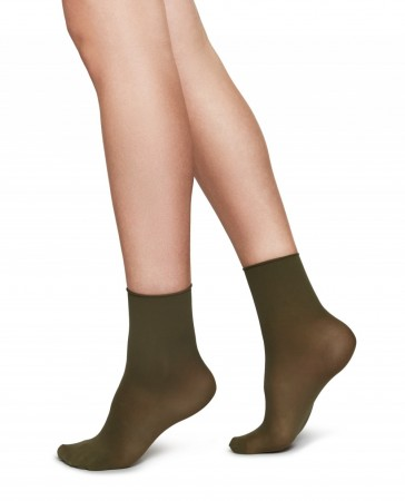 Swedish Stockings, Judith Premium 30 denier - KHAKI/CREME 2-pk