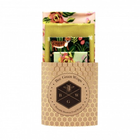 Bee Green Wraps bivokspapir 4-pk,