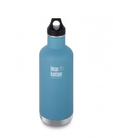 Klean Kanteen Insulated Classic drikkeflaske 946 ml, QUIET STORM