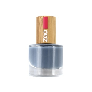 Zao neglelakk 8 ml, 670 BLUE GREY