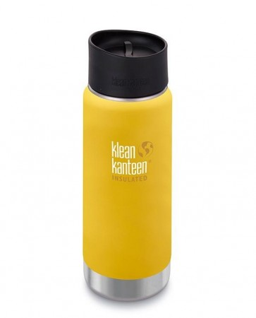Klean Kanteen INSULATED WIDE 473 ml, LEMON CURRY