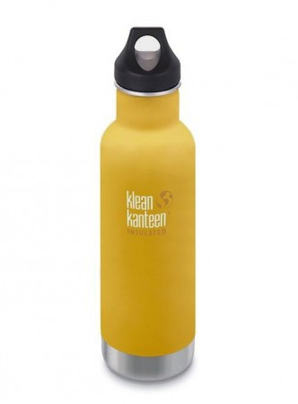 Klean Kanteen INSULATED CLASSIC 592 ml, LEMON CURRY (gul)