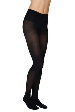 Swedish Stockings strømpebukser - OLIVIA Premium BLACK 60 denier