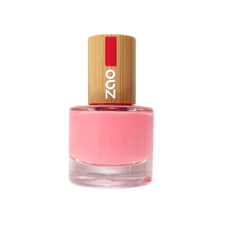 Zao neglelakk 8 ml, 654 HOT PINK