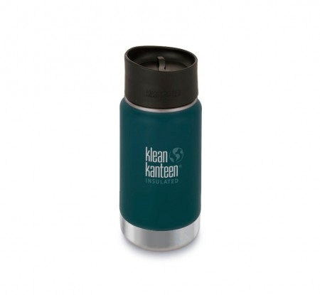 Klean Kanteen INSULATED WIDE 355 ml, NEPTUNE BLUE, midlertidig utsolgt