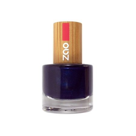 Zao neglelakk 8 ml, 653 NIGHT BLUE