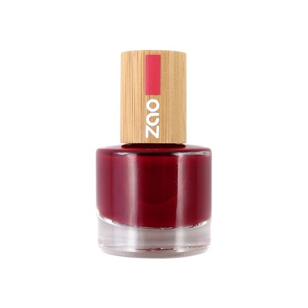 Zao neglelakk 8 ml, 668 PASSION RED