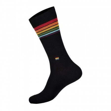 Socks that save LGBTQ lives - RAINBOW (str. 36-40, 41-46), Conscious Step sokker