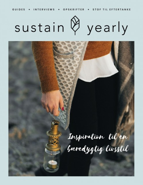 Sustain Yearly livsstilsmagasin, utgave 2 (dansk). Foto: Sustain Daily