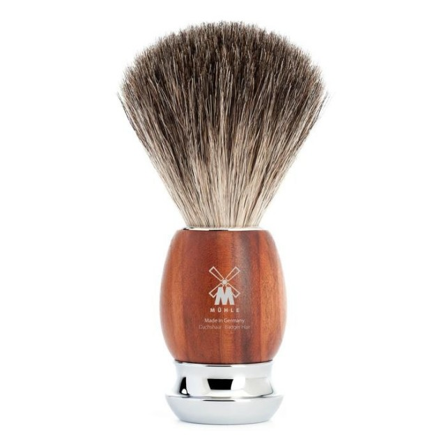 Mühle Vivo Pure Badger barberkost. Foto: Mühle via grooming