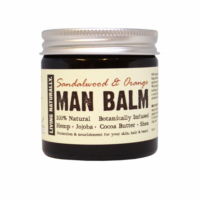 Man Balm, økologisk universalprodukt for menn. Foto: Living Naturally
