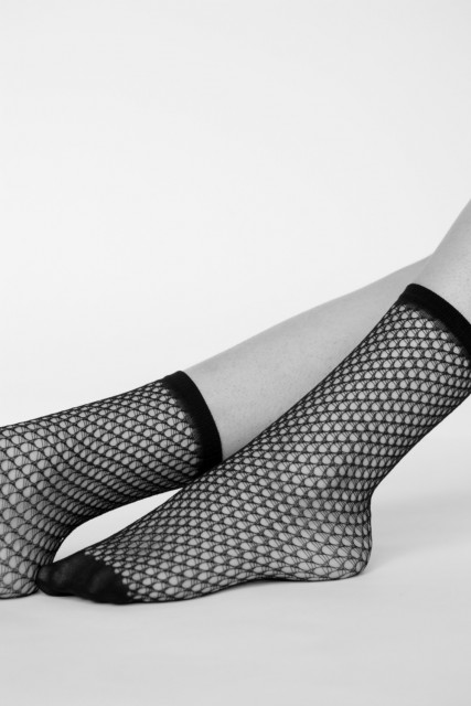 Sokker laget av resirkulert materiale. Foto: Swedish Stockings