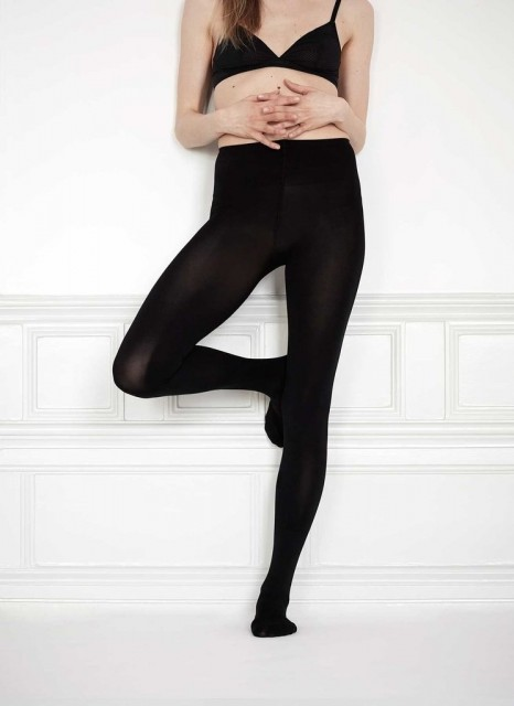 Modellen Lia Premium Black 100 denier fra Swedish Stockings. Foto: Produsenten