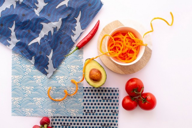 Plastfri matoppbevaring. Foto: Wrappa Reusable Food Wraps