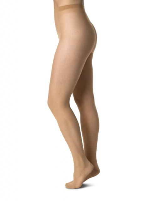 Miljøvennlige strømpebukser Elin Premium, Nude Medium 20 denier. Foto: Swedish Stockings